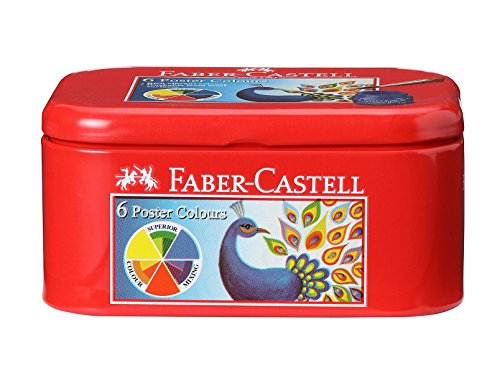 Faber Castell Poster Colors - 6 Shades by Faber Castell