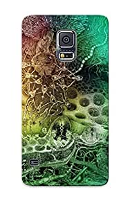 Cute High Quality Galaxy S5 Color Psychedelic Detail Dark Case Provided By Trolleyscribe