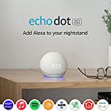 Echo Dot (4th Gen) | Smart speaker with clock and