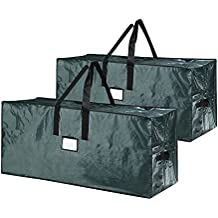 Elf Stor Bag for Christmas Tree Storage, (2) Large Bags - Green