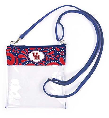 Canyon Outback Clear Crossbody Game Day Bag (Stadium Approved) ... (Houston)