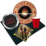 BirthdayExpress Top Secret Spy 24 Guest Party Pack