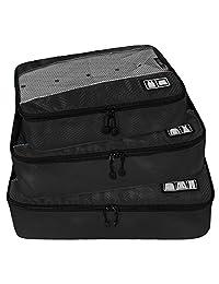 BAGSMART Luggage Travel Bag Packing Cubes Packing Organizers Toiletry Bag 3PCS Set