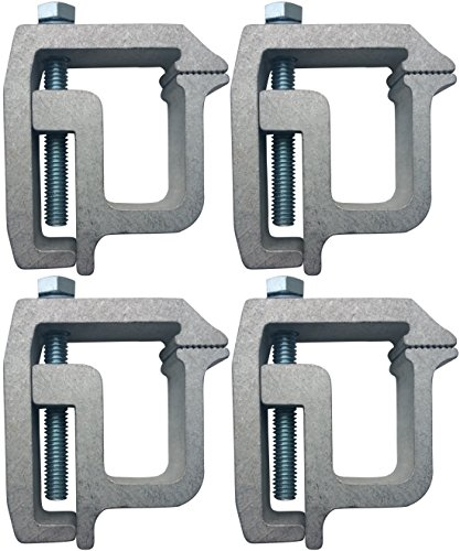 Tite-Lok Tl-2002 Truck Cap Topper Mounting Clamp (4 Pack) ()