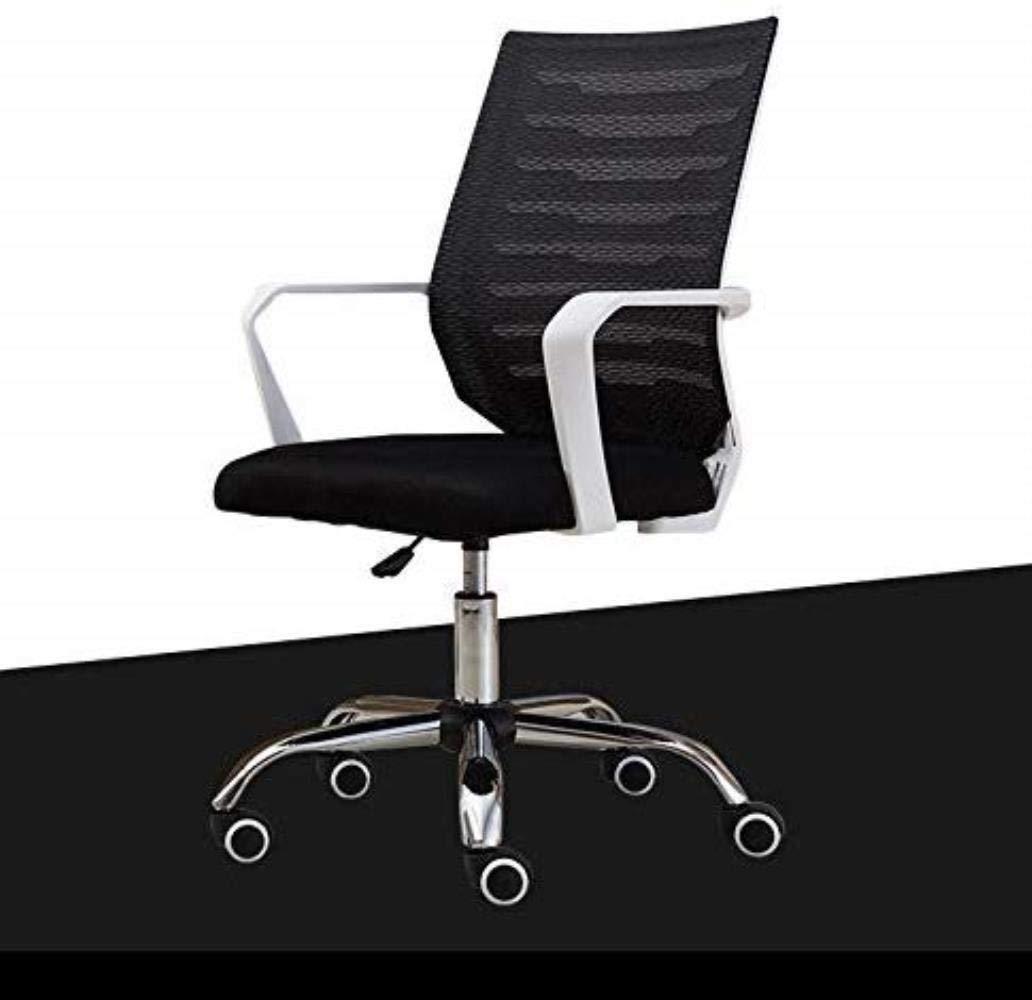 Kontorsstol LHY datorstol hem konferens svängbar stol personalisering stol säte nätstol hållbar (färg: svart) Svart