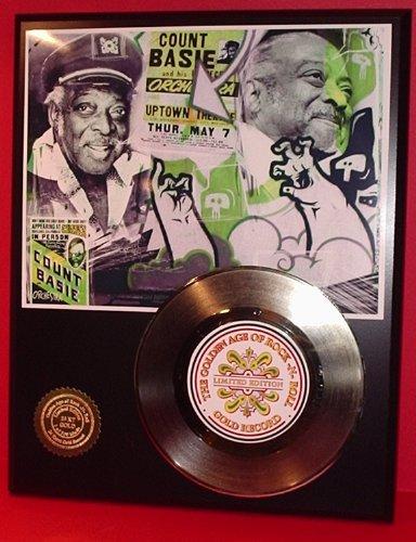 Count Bassie 24Kt Gold Record LTD Edition - Harlem Outlet