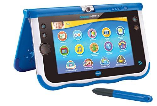 vtech 166805 tablette tactile storio max 7 bleu la caverne du jouet. Black Bedroom Furniture Sets. Home Design Ideas