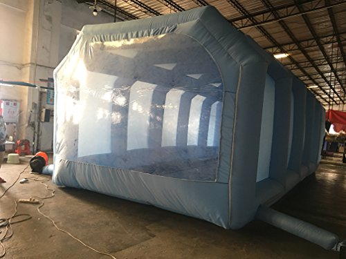Inflatable Spray Booth Custom Tent Car Paint Booth Inflatable Car (26x13x10Ft) by LIVIQILY (Image #3)