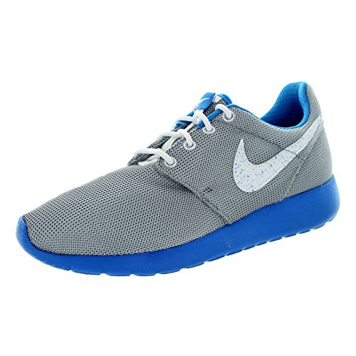 white Grey running Roshe Photo Chaussures Run de Blue Wolf Nike White fille P0qg4qw