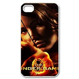 D-PAFD Customized Print The Hunger Games Pattern Back Case for iPhone 4/4S