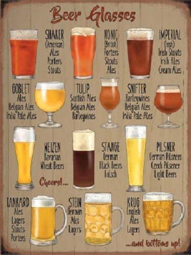 RKO Copas de Cerveza Fabricación Cerveza Bar Pub Habitación ...
