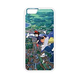 Kiki's delivery service 001 iPhone 6 4.7 Inch Cell Phone Case White TPU Phone Case RV_605939