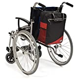 Simplantex Wheelyscoot Bag - Universal Wheelchair/Mobility Scooter Bag - Burgundy