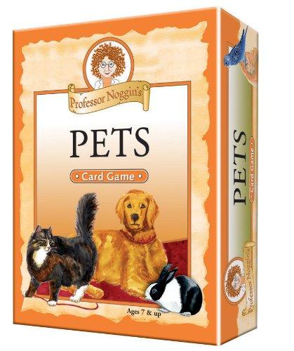 Professor Noggin's Pets - A Educational Trivia Based Card Game For Kids - Ages 7+ ()