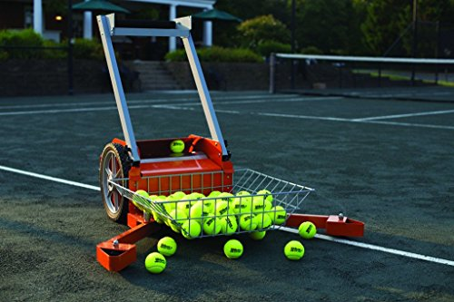 Tennis Ball Mower - Har-Tur Anti-Jamming All-Court Ball Mower by HOAG