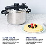 Zavor EZLock 7.4 Quart Stove-top Pressure Cooker