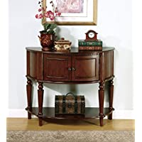 1PerfectChoice Brown Entry Table