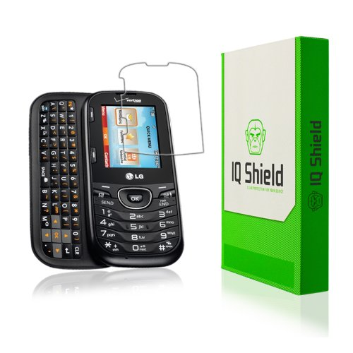 IQ Shield LiQuidSkin Full Coverage Screen Protector for LG Cosmos 3 HD Clear Anti-Bubble Film