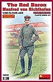 """MINIART Echelle 1: 16cm le Baron rouge Manfred von rihthofen WWI Flying Ace """"Kit de modèle en plastique"""