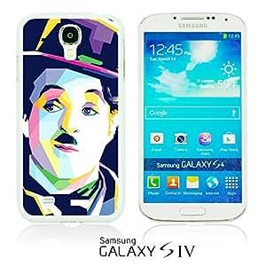 OnlineBestDigitalTM - Celebrity Star Hard Back Case for Samsung Galaxy S4 IV I9500 / I9505 - Chaplin Artwork