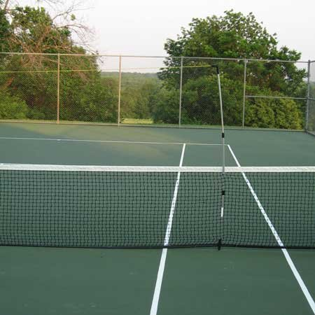 OnCourt OffCourt E-Z Airzone Tennis Target System - Hit Less Balls Into the Net / Adjustable Height