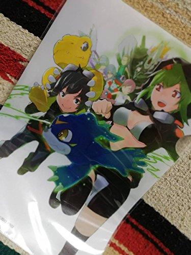 クリアファイル15 デジモンワールド Re:Digitize ゲオ 購入特典 ヤスダタダヒト