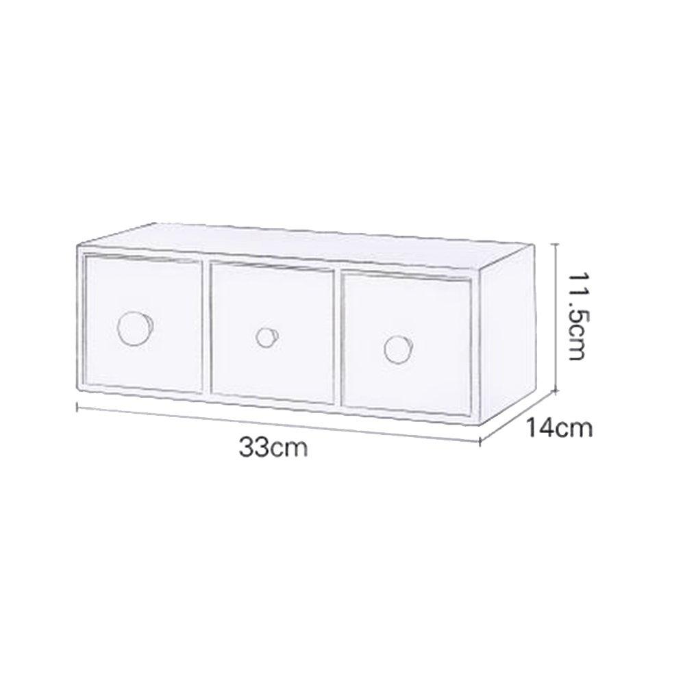 BBYE BBYE BBYE Europeo de gran capacidad de almacenamiento caja de joyería exquisita caja de almacenamiento dispositivo de joyería collar de cajas de acabado ( Tamaño : A ) 5cde29