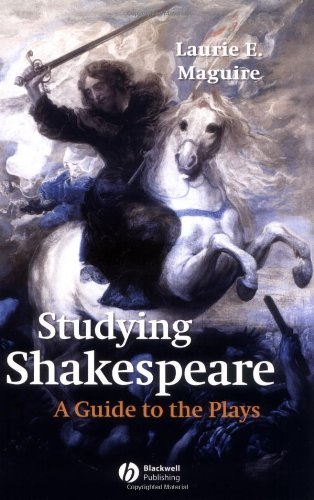 Studying Shakespeare: A Guide to the Plays