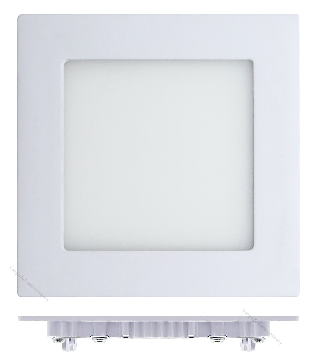 6W LED SQUARE Recessed Ceiling Flat Panel Down Light Ultra