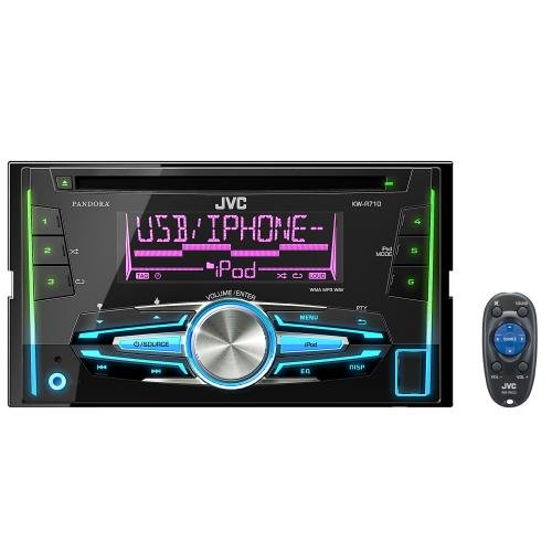 JVC KW-R710 Double-DIN in-dash CD/USB Receiver