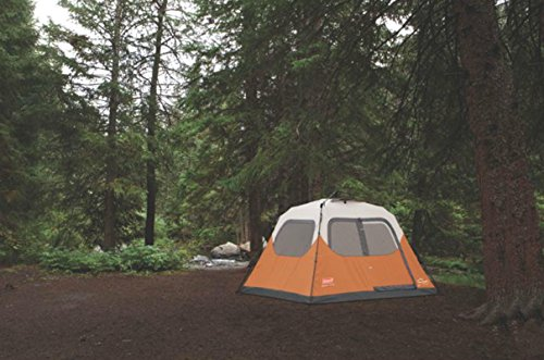 Coleman Waterproof 10 X 9-Feet 6-Person Instant Tent Orange & Coleman Waterproof 10 X 9-Feet 6-Person Instant Tent Orange ...