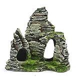 Mountain View Aquarium Rockery Hiding Cave Tree Fish Tank Ornament Decoration Bobury