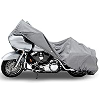 Motorcycle Bike 4 Layer Storage Cover Heavy Duty For Harley Davidson Road King Custom