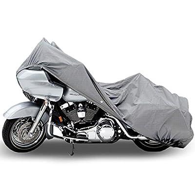Motorcycle Bike 4 Layer Storage Cover Heavy Duty For Harley Davidson Road King Custom