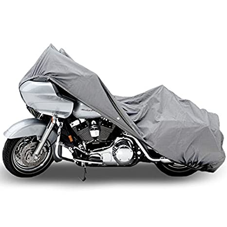 Motorcycle Bike 4 Layer Storage Cover Heavy Duty For Harley Davidson Road  Glide Custom