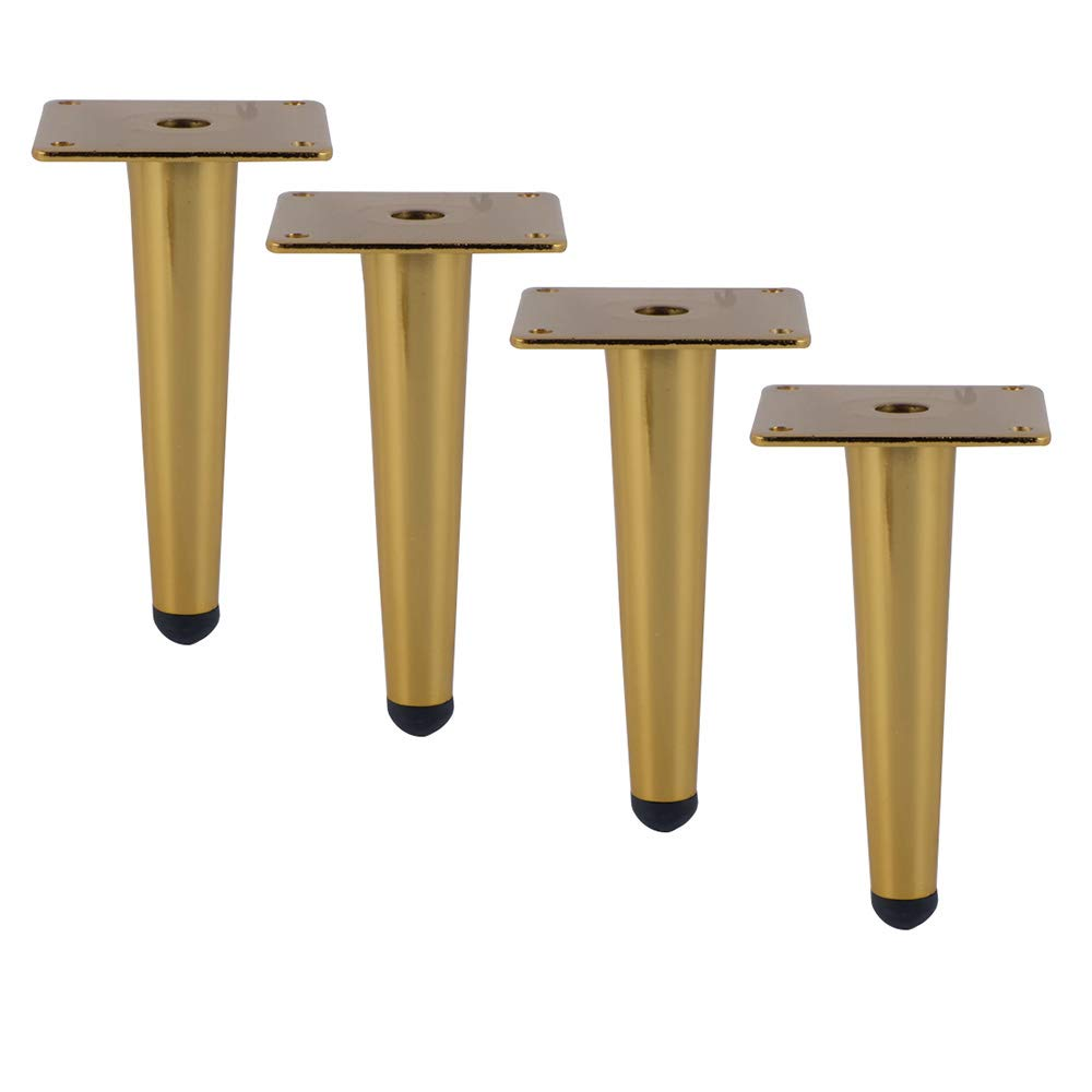 Furniture legs M/öbelf/ü/ße X4 Metall Couchtisch M/öbel Eisen TV Schrank F/ü/ße Edelstahl Gold Sofa Beine Schrank Beine Last Gewicht 800kg
