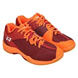 Yonex Red P.U. Leather Sport Shoes for-Men (SRCP-SHOES_RD_10)