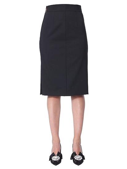 Dolce E Gabbana F4BL4TFUBAJN0000 - Falda de Lana para Mujer, Color ...