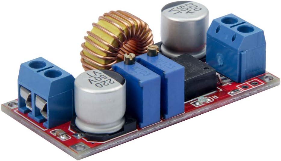 TeOhk DC-DC Step-down Constant Current Regulator Module LED Driver Module Lithium Battery Charger Module Board DC-DC Power Module