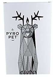 PyroPet Candles Dyri Candle, Light Blue