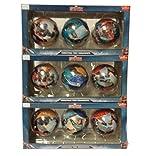 ELWF Marvel Avengers Civil War Captain America Christmas Ball Ornaments 9-pack by Hallmark