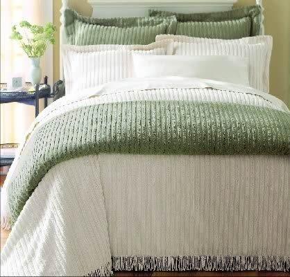 (BigKitchen Sage Green Chenille Standard Pillow Sham )