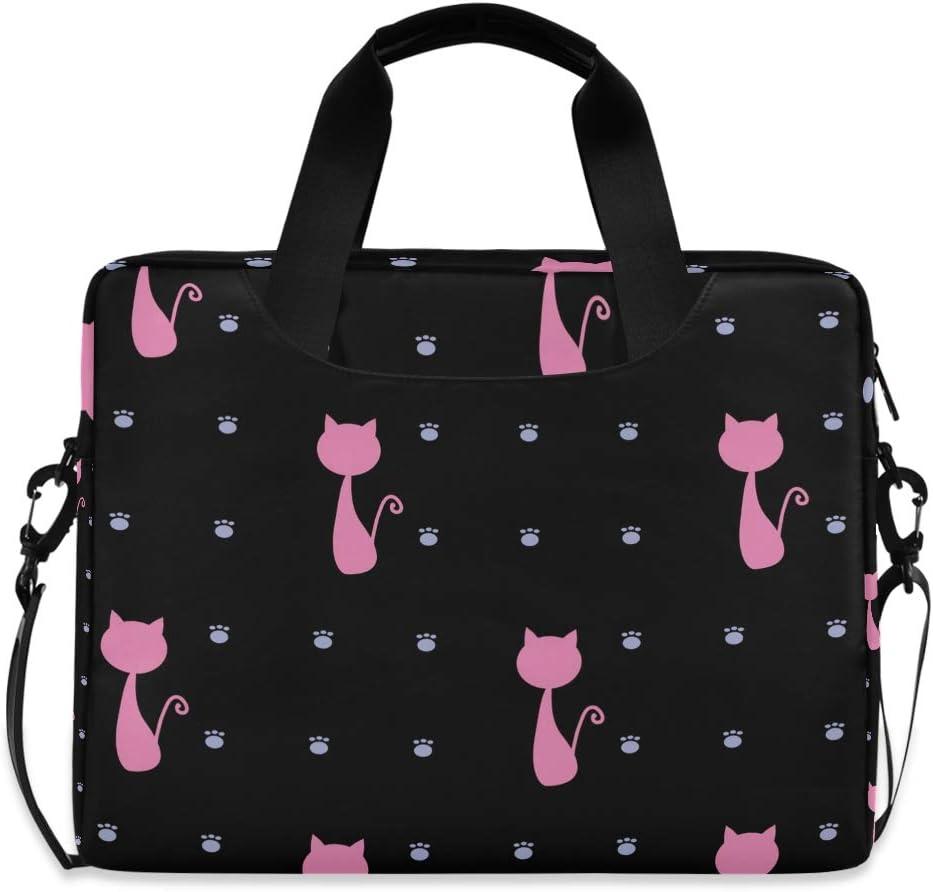 Cute Laptop Cases 15.6 for Women Laptop Shoulder Bag Carrying Briefcase Handbag Sleeve Case Leopard Spots Seamless Pattern