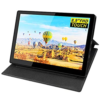Monitors Eleduino 9 inch Touchscreen LCD Monitor,1920x1200 IPS Display,USB Power,Mini HDMI and Type C Input for Raspberry pi 4/Xbox/PS4/Nintend/Computer/Laptop/Mac/MINI PC