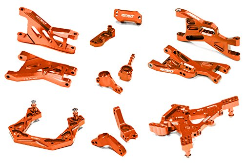 INTEGY RC Model Hop-ups C26460ORANGE Billet Machined Susp...