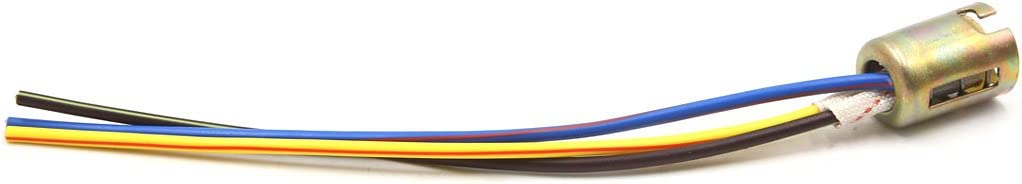 uxcell 2pcs 3 Wire 1157 LED Brake Stop Light Bulb Car Extension Socket Holder Connecter