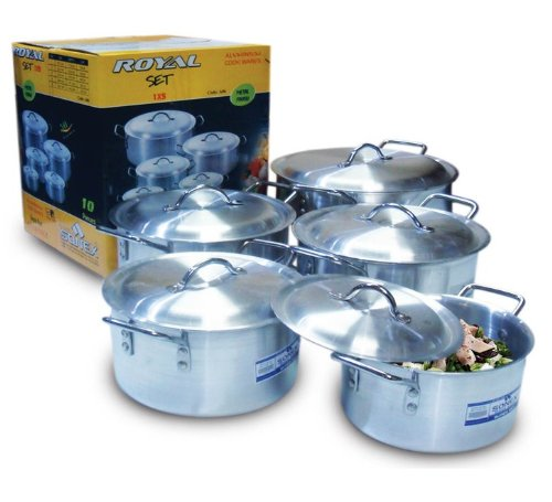 Sonex Royal Aluminium Casserole / Stew Pan / Stew Pot / Stock Pot With Lid (22cm/3.8L)