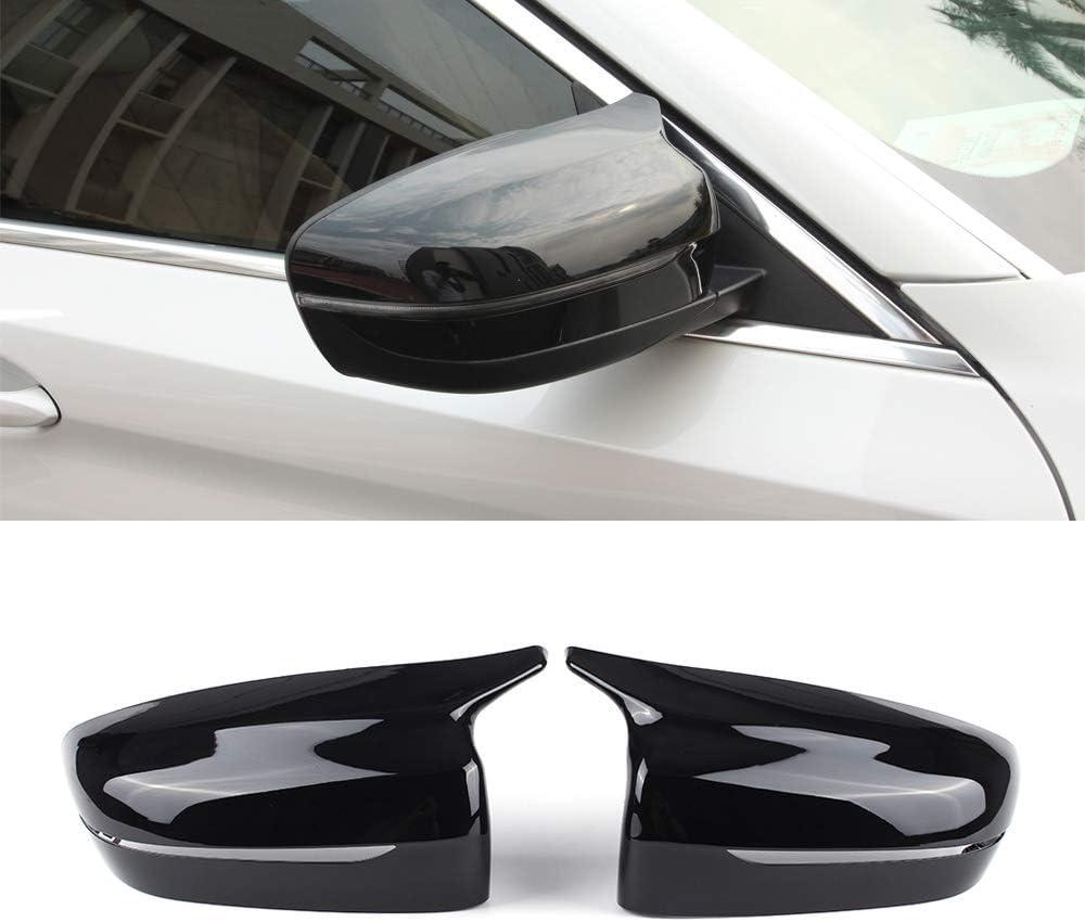 For BMW 3 Series G20 330i 19-2020 Black car exterior rear view mirror cover trim