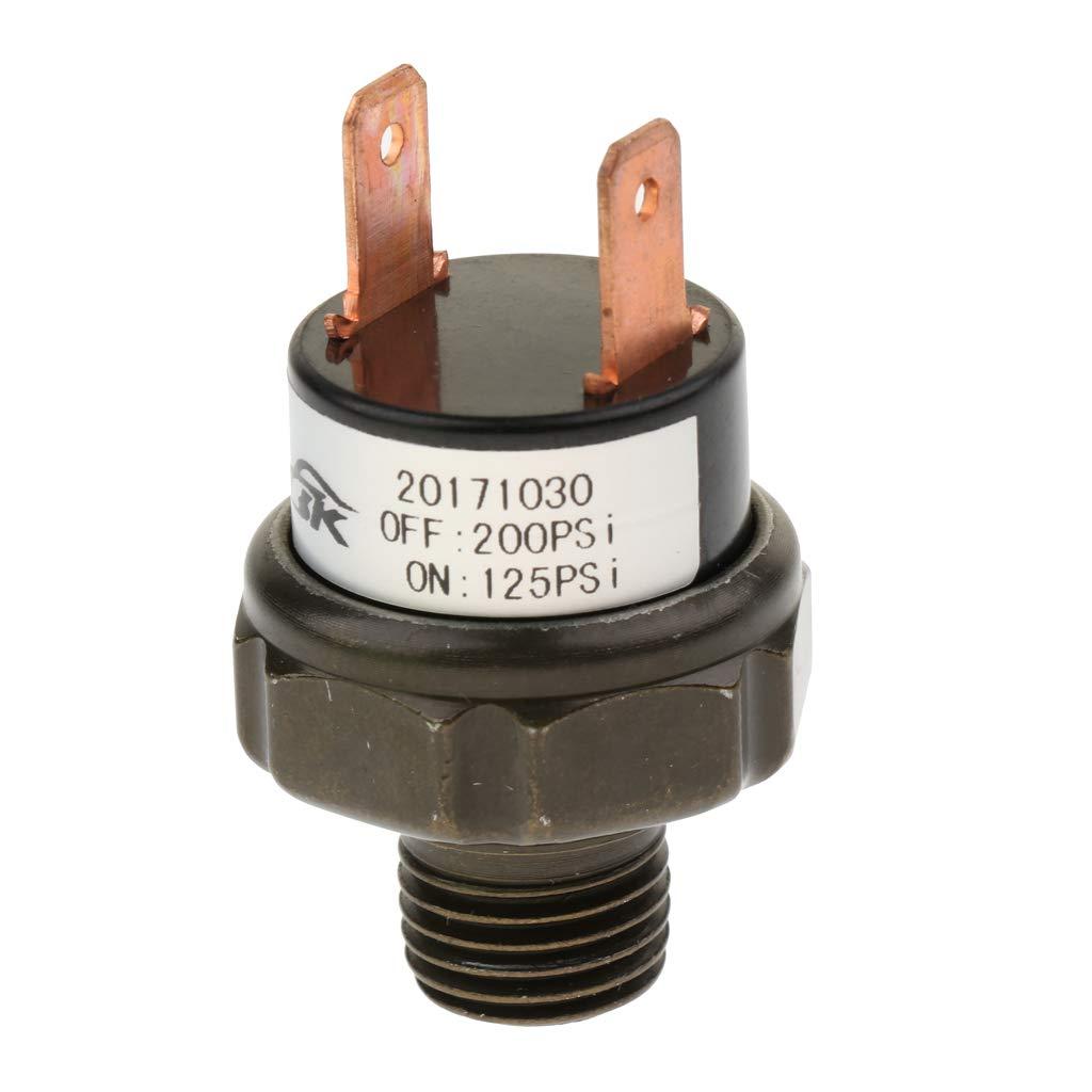 Sharplace Compresores para Aplicaciones de Bocina de Aire y Suspensión de Auto - Negro 125-200psi: Amazon.es: Coche y moto