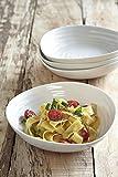 Portmeirion Sophie Conran White Pasta Bowl, Set of